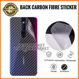[PROMOTION] Oppo Realme 3, C3, 3 Pro, 5, 5i, 3D Anti Fingerprint Back Carbon Fiber Sticker Film