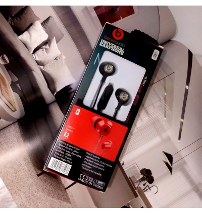 Beats Audio E2 Universal Earphone Wired With Mic For Android/Tablet/iPhone/Pc