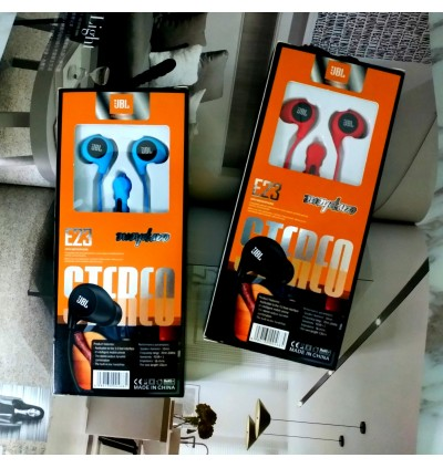 New E23 Stereo Bass Earphone Wired With Mic For Android/Tablet/iPhone/Pc