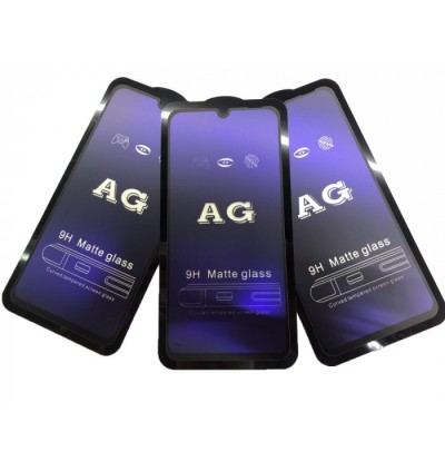 Redmi Note 7 5D Full Cover Matte Anti Blue Ray Tempered Glass