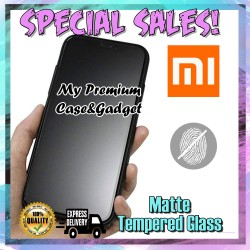 Xiaomi Redmi 7 Matte Anti Fingerprint Tempered Glass 9H Hardness