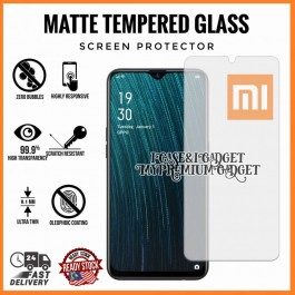 [AG MATTE] Xiaomi Redmi 5A, 5 Plus, 7 Anti Fingerprint Full Glue Gaming Tempered Glass