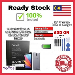[100% FULL CAPACITY] Battery Neffos TP-LINK C5 Plus, C5A/C5S/Y5 Lite NBL-40A2150/TP7031A NBL-43A2300/TP703A/TP704A High Quality Replacement Spareparts Add-On Tools