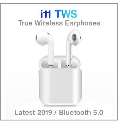 i11 5.0 TWS Wireless Bluetooth Earphones With Charging Case