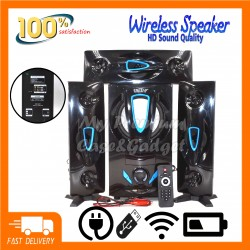 Speaker DJACK ERA E-83 Bluetooth Home Theater Super Bass System Support USB/Bluetooth/TF Card