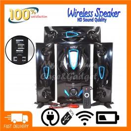 Speaker DJACK ERA E-83 Bluetooth Home Theater Super Bass System Support USB/Bluetooth/TF Card