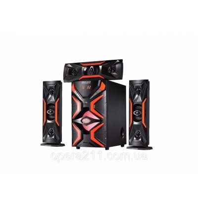 Speaker DJACK 1503L Powerful Bluetooth Home Theater Super Bass System With Remote Control Support TD Card/Wireless/USB
