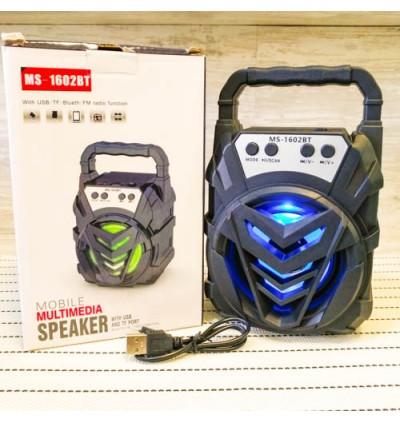 Portable Wireless Speaker MS-1602BT Bluetooth With FM radio USB/TF/AUX/BT Mini MP3 Clear Sound Super Bass