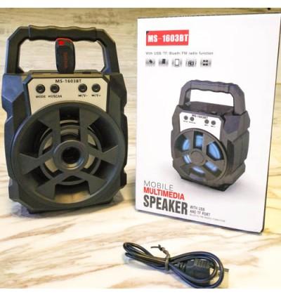 Portable Wireless Speaker MS-1704BT Bluetooth With FM radio USB/TF/AUX/BT Mini MP3 Clear Sound Super Bass