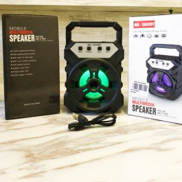 Portable Wireless Speaker MS-1604BT Bluetooth With FM radio USB/TF/AUX/BT Mini MP3 Clear Sound Super Bass
