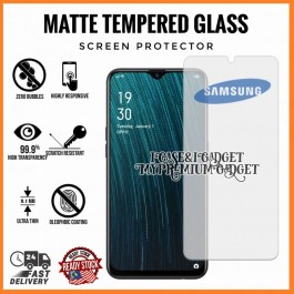 [AG MATTE] Samsung Galaxy J1 Ace, J2 Prime, J2 Pro, J4 Plus, J6 Plus Anti Fingerprint Full Glue Gaming Tempered Glass