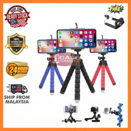 Phone Holder Flexible Octopus Tripod Bracket Selfie Tripods Monopod Accessories For Mobile Phone Or Camera Mount Tripods
