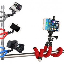Flexible Octopus Tripod Bracket Selfie Stand Mount Monopod Phone Holder Styling Accessories