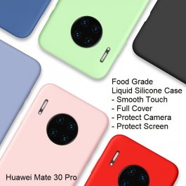 Huawei Mate 30, Mate 30 Pro ,Nova 5i, Y9 Prime Liquid Silicone Soft Phone Case Soft Cover