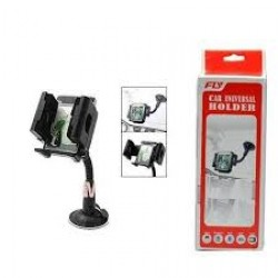 FLY Car Holder Suction Universal Car Holder - 360° Rotating Suction-Cup Flexible Arm