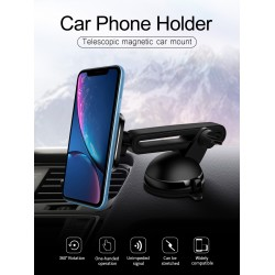 Magnetic Car Mount Holder Windshield Dashboard Suction Mount Stand For Cell Phones