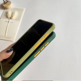 Huawei Y9S Matte Transparent Soft TPU Edge Hard Case
