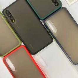 Oppo A1K ,A3S ,A37 ,A5S ,A9 ,Reno2  Matte Transparent Soft TPU Edge Hard Case