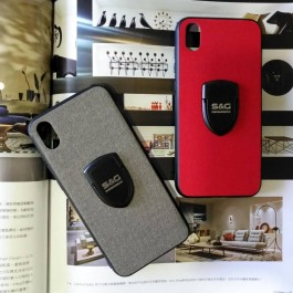 Vivo S1 Pro Y12 Y17 Y19 Y91 Shiny & Gorgeous Stand Hard Case