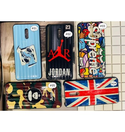 Oppo Reno 6.4 Hard Fashion Printed  Fency Case Ready Stock