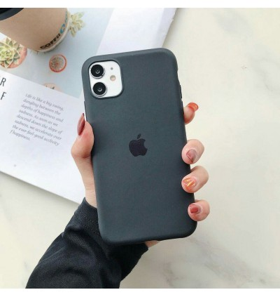 iPhone 11 All-Inclusive Drop-Resistant Candy Liquid TPU Silicone Anti Shockproof Case With Logo