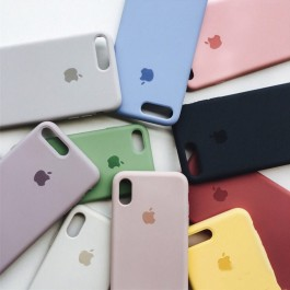 Full Coverage iPhone 11 Candy Color Casing Liquid Silicone Rubber Premium Case
