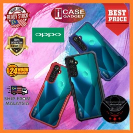 Oppo A31 A3S/A12e A5S/F9/A12 A5/A9 2020 A91 A92 A93 Shockproof Military Grade Rugged Armor Transparent Case Like XUNDD