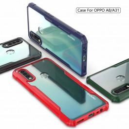 Oppo A31, A3S/A12e, A5S/F9/A12, A5 2020/A9 2020, A91, Reno 2 Shock Proof Resistance Full Protection Armor Transparent Case