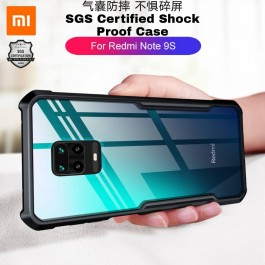 Redmi 8A, Note 7, Note 8, Note 9, Note 9S Shockproof Military Grade Rugged Full Protection Armor Transparent Case Like XUNDD