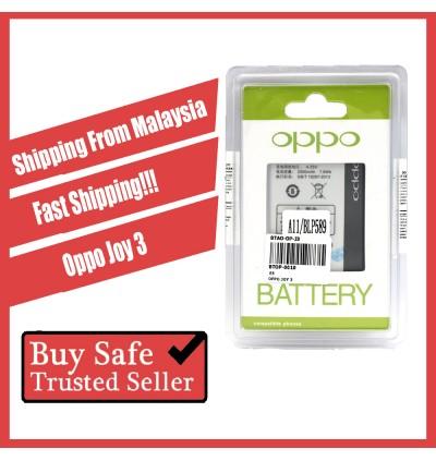 [100% FULL CAPACITY] Battery Oppo Joy, Joy 3/Mirror 3, N1, N1 Mini, N3 High Quality Replacement Spareparts
