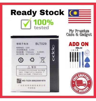[100% FULL CAPACITY] Battery Oppo Joy/R1001, Joy 3/Mirror 3/R3007, N1, N3 BLT029 BLP557 BLP581 BLP589 High Quality Replacement Spareparts Add-On Tools