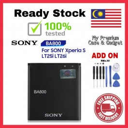 [100% FULL CAPACITY] Battery Sony Ericsson BA600 BA700 BA800 High Quality Replacement Spareparts