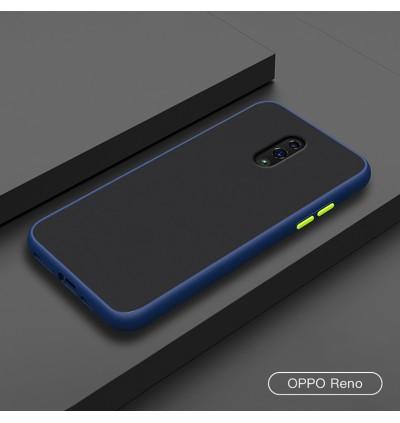 Oppo Reno, Reno 2, Reno 2F Shockproof Matte Transparent Soft TPU Edge Hard Full Cover Case