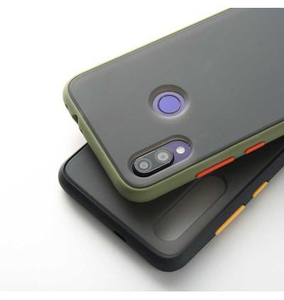 Redmi 7A 8, 8A, Note 8 Shockproof Matte Transparent Soft TPU Edge Hard Full Cover Case