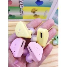 TWS-C1 Earphone Bluetooth 5.0 headphone SHOCK HEAVY BASS matte True wireless Earbuds bilateral stereo sports Headset for Smartphone TWS C1