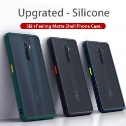 Oppo F11, F11 Pro Shockproof Shockproof Matte Transparent Soft TPU Edge Hard Full Cover Case