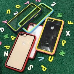 Samsung Galaxy S20 Rainbow Transparent Soft TPU Edge Hard Case
