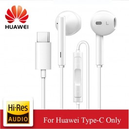 Huawei Type C CM33 Port In-Ear Earphones Earbuds With Microphone Hi-Res Audio MP3