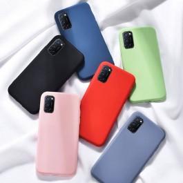 Samsung Galaxy A11, A51, A71 Candy Liquid Full Cover TPU Silicone Anti Shockproof Case