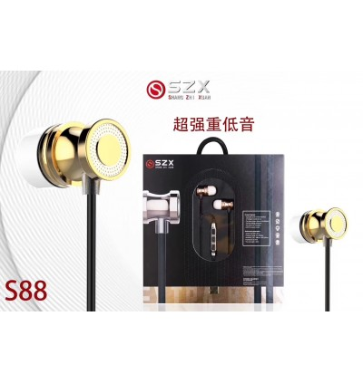 [ORIGINAL]SZX S88 Stereo Headset With Microphone Compatible With All Mobile Phone