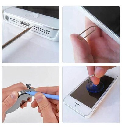 YAXUN Opening Tools Disassemble Kit Set For iPhone Android Smartphone LCD Replacement