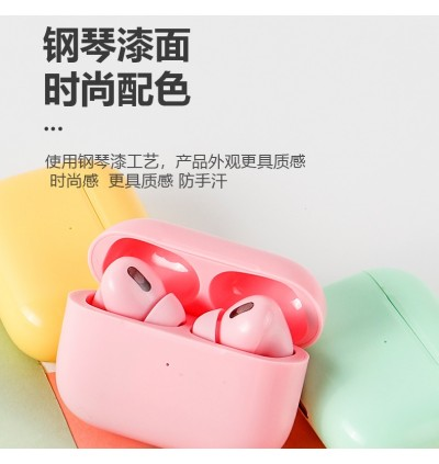 Macaron TWS Wireless Earbuds Bluetooth 5.0 Colorful AirPods Pro Touch Control Earphone