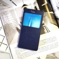 Huawei Nova 2 Plus, 3i, 4, 4e, 5t, 7i S View Window Notification Leather Design Flip Case Cover