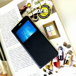 Vivo Y12/Y15/Y17, Y19, Y55, Y71 S View Window Notification Leather Design Flip Case Cover