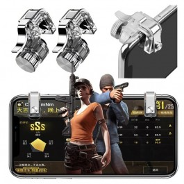 High Quality R11 PUBG 1 Pair L1R1 Mobile Phone Gaming Controller Gamepad Metak Trigger Fire Button Aim Key