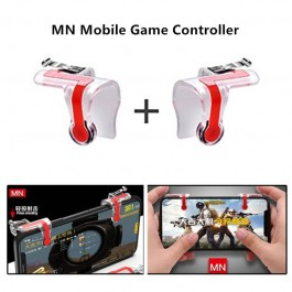 High Quality MN PUBG 1 Pair L1R1 Mobile Phone Gaming Controller Gamepad Metal Trigger Fire Button Aim Key