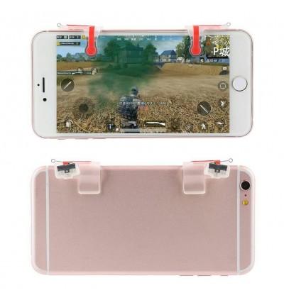 High Quality MN PUBG 1 Pair L1R1 Mobile Phone Gaming Controller Gamepad Metal Trigger Fire Button Aim Key