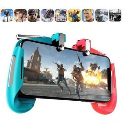 High Quality AK16 PUBG Mobile Phone Gaming Controller Gamepad Metal Trigger Fire Button Aim Key