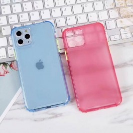 Oppo A1K, A12/A5S/F9, A31, A37, A59/F1S, A92/A52, Reno 2 Matte Transparent Colorful Rainbow Anti Crash Shockproof Full Cover Silicone Case