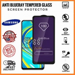 [FULL COVER] Samsung Galaxy Note 10 Lite 5D/9D AG Matte Anti Blue Ray Full Glue Gaming Tempered Glass